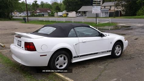 best 2000 ford mustang 2000 ford mustang gt convertible black