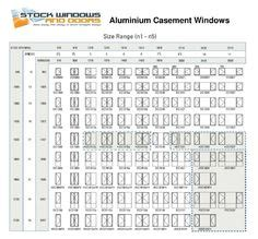 superb interior door size chart  standard casement window sizes chart staging homes  sale