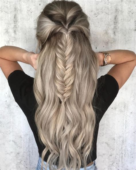 fishtail braided hairstyles 39 trendy messy chic braided hairstyles fishtail