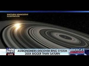 Astronomers Discover Planet With Rings 200X Bigger Than ...