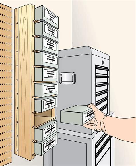 screw box shelving storage unit woodworking plan shop