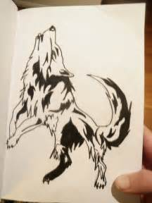 Anime Wolves Drawings