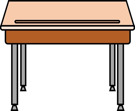 kitchen island with table clipart desk
