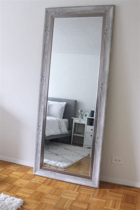 floor mirror tj maxx a tour of our nyc apartment creating a cozy bedroom little chef big appetite