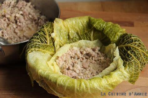 recette cuisine familiale recette chou farci la cuisine familiale un plat une