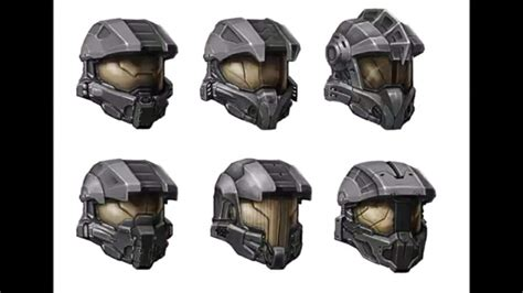 Concept Art For Master Chiefs Helmet In Halo 4 What The