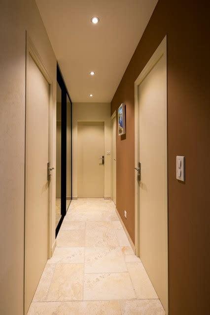 peinture pour cuisine rustique maison particulière décoration moderne couloir