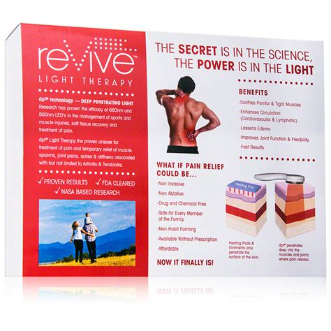 revive light therapy pain relief system dermstore