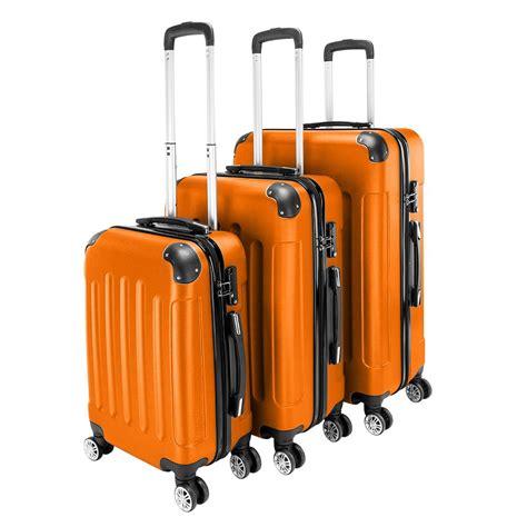 Ubesgoo - UBesGoo 3 Pieces Travel Luggage Set Bag ABS ...