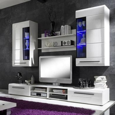 invictus wall mounted tv unit living room set  white