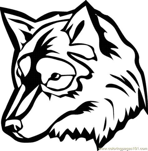 coloriage loup  imprimer pour les enfants cp