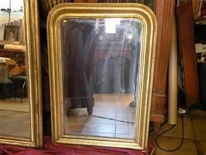 Miroir Ancien Pas Cher : grand miroir ancien louis philippe dor xix eme ~ Teatrodelosmanantiales.com Idées de Décoration