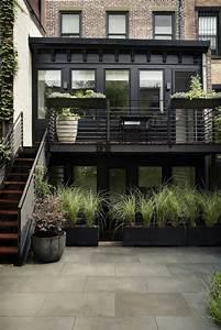 amenagement jardin et terrasse en ville dune maison a With maison bois et pierre 7 galerie de photos apmaq