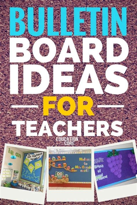 bulletin board display ideas  pinterest