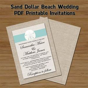 1000 images about diy beach wedding invitations on With etsy wedding invitations pdf