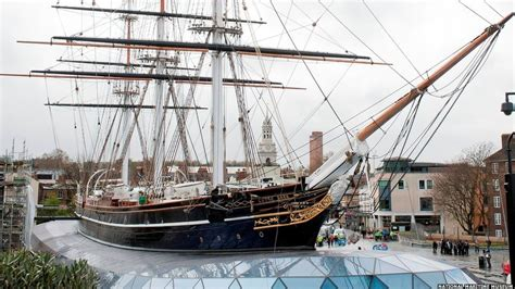 BBC News - In pictures: Cutty Sark ship-shape once more