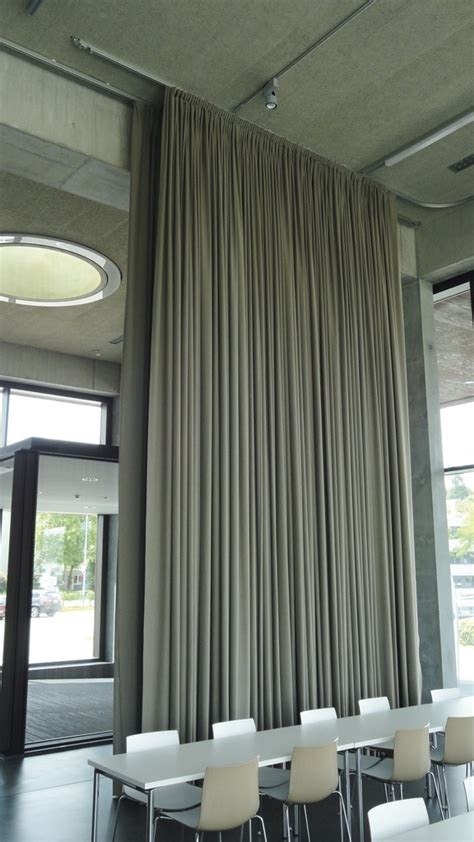 Electric Drapery System by Silent Gliss Electric Curtain Track Systems