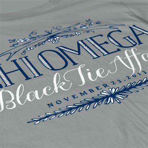 Winter Formal Shirts Chi Omega