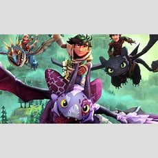 Dreamworks Dragons Dawn Of New Riders First Gameplay Teased  Playstation Universe