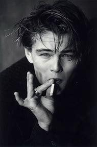 Leonardo DiCaprio Young Smoking