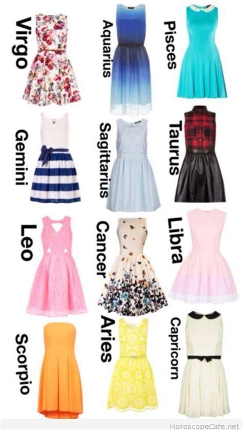 Amazing prints on dresses for each zodiac sign / Horoscope Cafe | Taurus | Pinterest ...