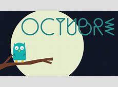 Calendario descargable Octubre • Silo Creativo