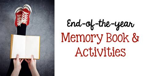 year memory book activities