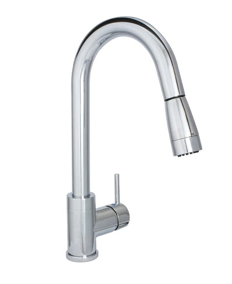 Pull Kitchen Faucet by Fluxe Pull Kitchen Faucet Huntington Brass K4880201 C