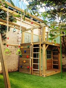 Spielhaus Holz Garten : spielhaus holz garten selber bauen ~ Articles-book.com Haus und Dekorationen