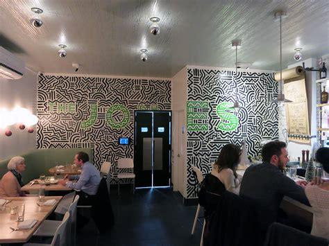 nyc restaurant mural design  jones graffiti usa