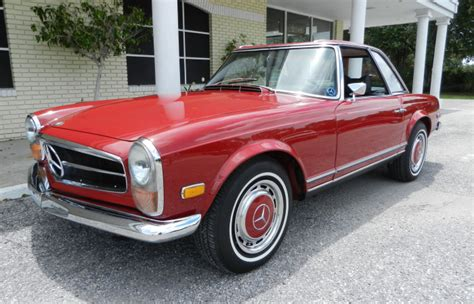 Driving this 450sel is an absolute pleasure. 1970 MERCEDES-BENZ 280 SL - Vintage Motors of Sarasota Inc.