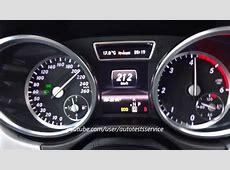 Mercedes ML250 CDI W166 0100 0200 0210 vmax