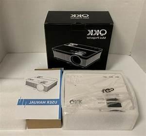 Qkk Mini Projector Pj0501 Full Hd Led Projector