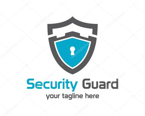security guard logo design vector stock vector 169 mahabiru 75850161
