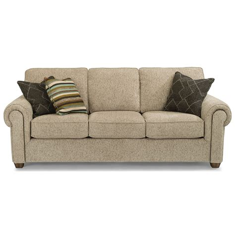 dwell studio carson sofa flexsteel carson customizable sofa with rolled arms