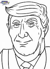 Coloring Trump Donald Pages President Celebrities Election Easy Drawing Face Funny Demi Gomez Selena Printable United Lovato Many Games Coloringonly sketch template