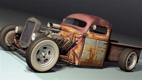 Rat Rod Full Hd Wallpaper And Background Image