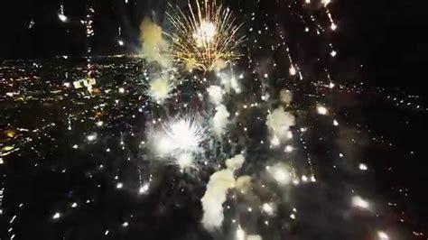 fireworks filmed   drone youtube