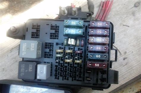 99 Venture Fuse Box by 1996 1997 1998 1999 Chevrolet Tahoe Fuse Relay