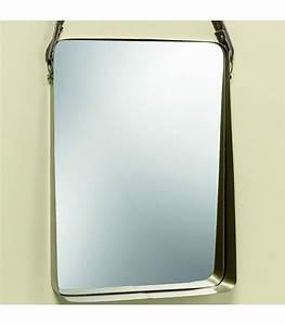Miroir Doré Rectangulaire : miroir et glace miroir design miroir en ligne ~ Teatrodelosmanantiales.com Idées de Décoration