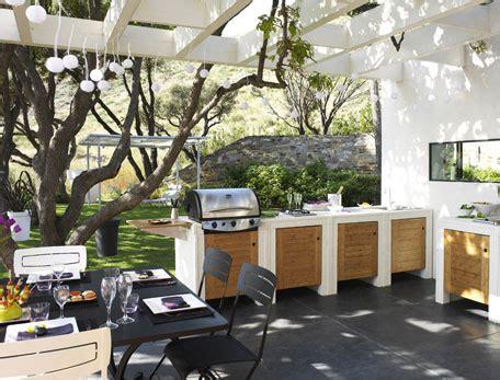 cuisine en dur 15 idées pour aménager une cuisine d 39 eté à l 39 extérieur