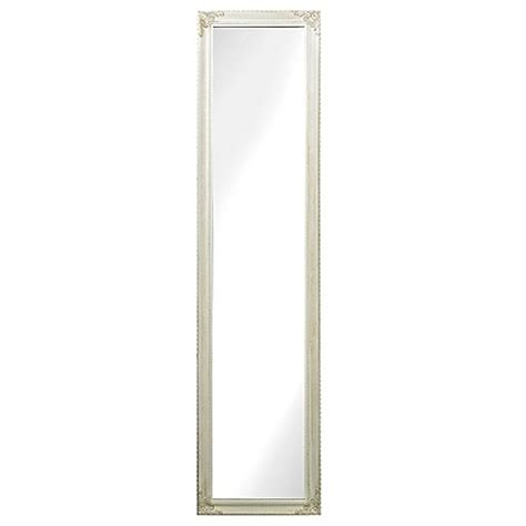 floor mirror bed bath beyond sterling industries masalia floor mirror in antique white