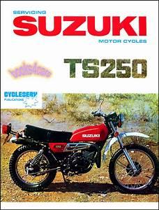 Suzuki Ts250 Shop Manual Service Repair Book Ts 250 69