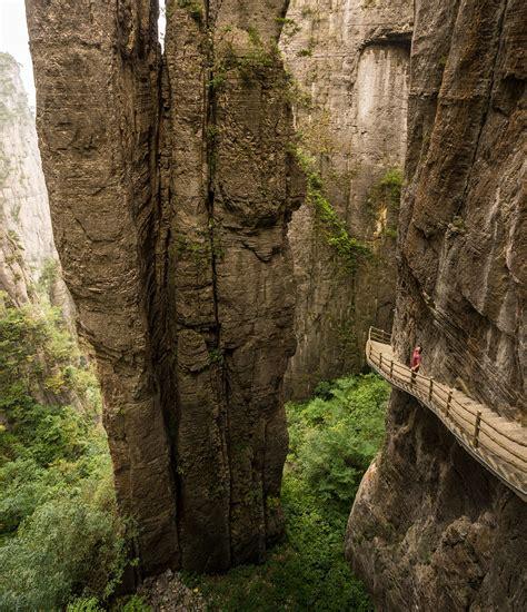 weeks  travel   walk  chinas grand canyon