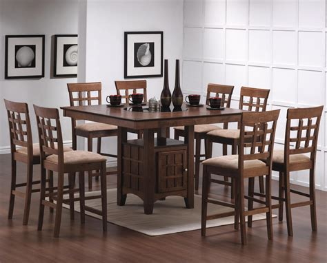 rc willey dining table counter height dining sets dining room rc willey full circle