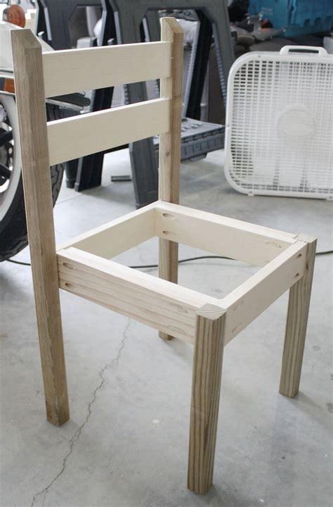 build  diy kids chair scrapworklove