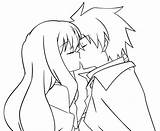 Anime Kiss Coloring Pages Couples Lineart Kissing Drawing Louise Saito Cuddling Sketch Template Nightcore Deviantart Getdrawings Templates sketch template