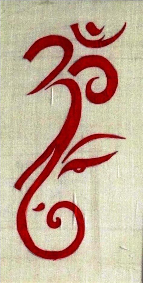 om tattoo design ideas  pinterest om om tatoo  hinduism