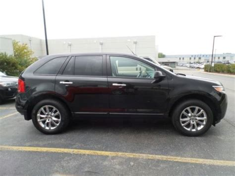 ford crossover black 2011 ford edge crossover 2wd for sale 23 used cars from