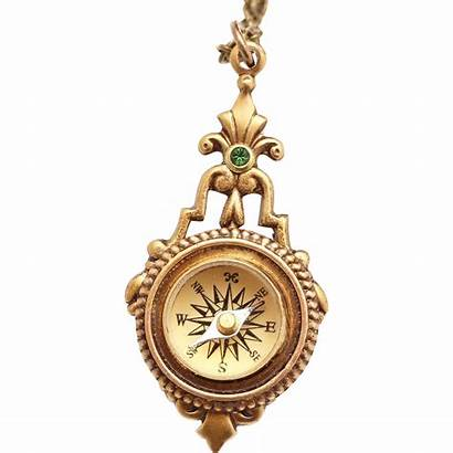 Compass Necklace Working Minimalist